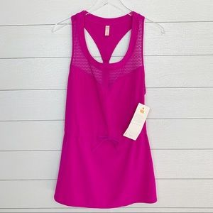 Lucy brand Neon Berry Keep Cool Dress NWT